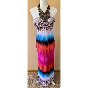 JUST IN! 🎉 Venus Tribal Halter Dress